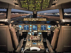 Computer Model Cock Pits-Boeing-777-30-1600
