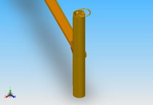 Isometric View (Handle)Grabber ASM_1231